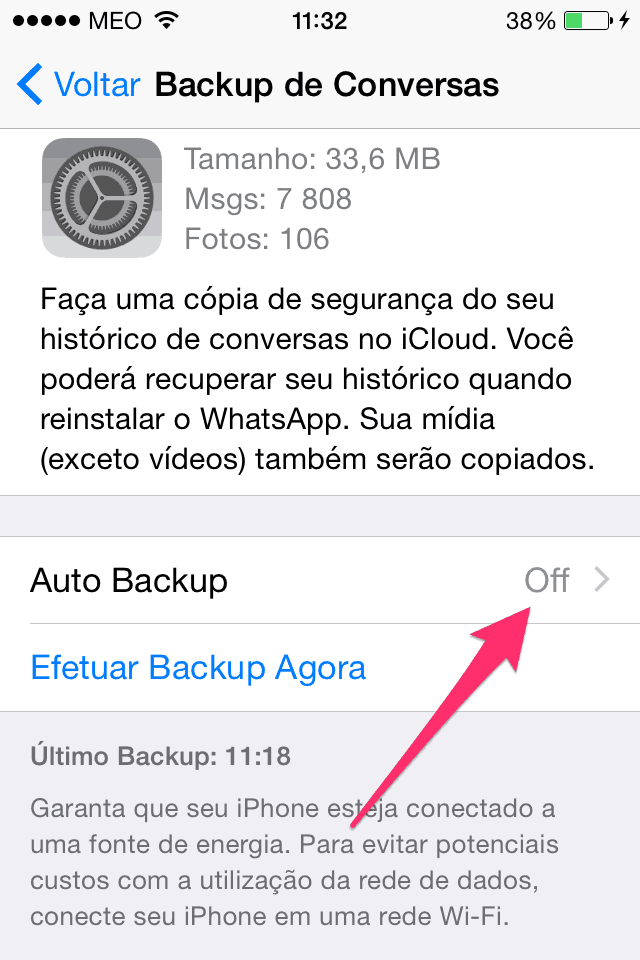 Auto Backup Whatsapp