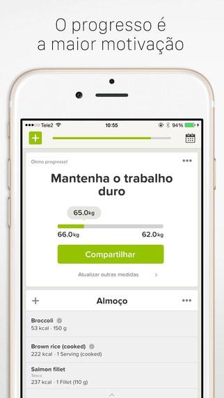Lifesum para iPhone e iPad