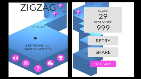 ZigZag para iPhone