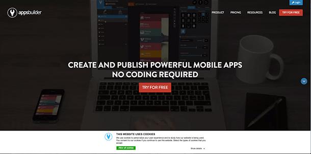 construtor de aplicativos apps builder