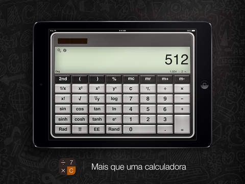 Calculadora Pro para iPad download