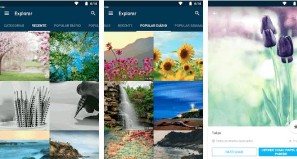 Papéis de Parede HD para Android