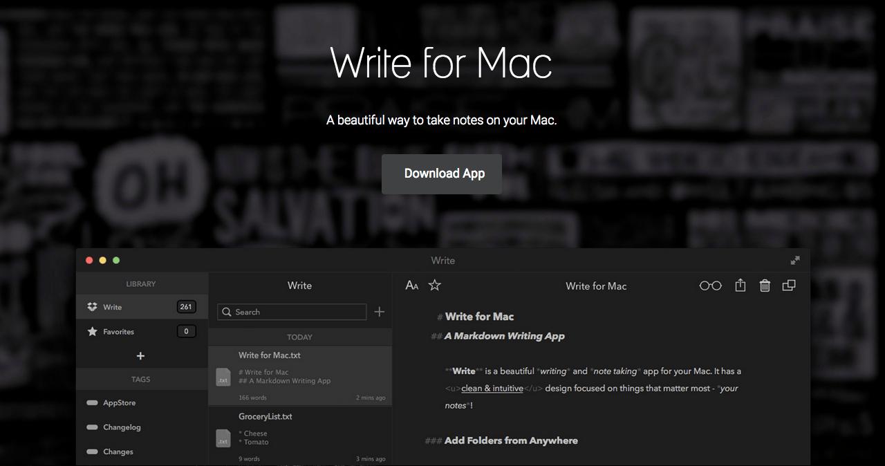 Write para Mac