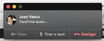 atender ligação no iMac