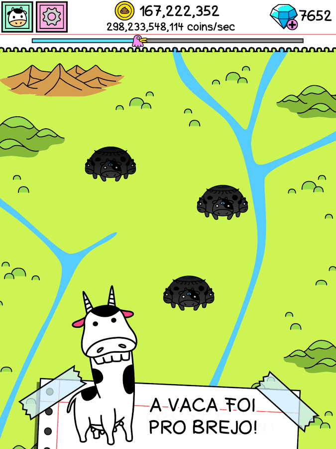 Cow Evolution para iPhone