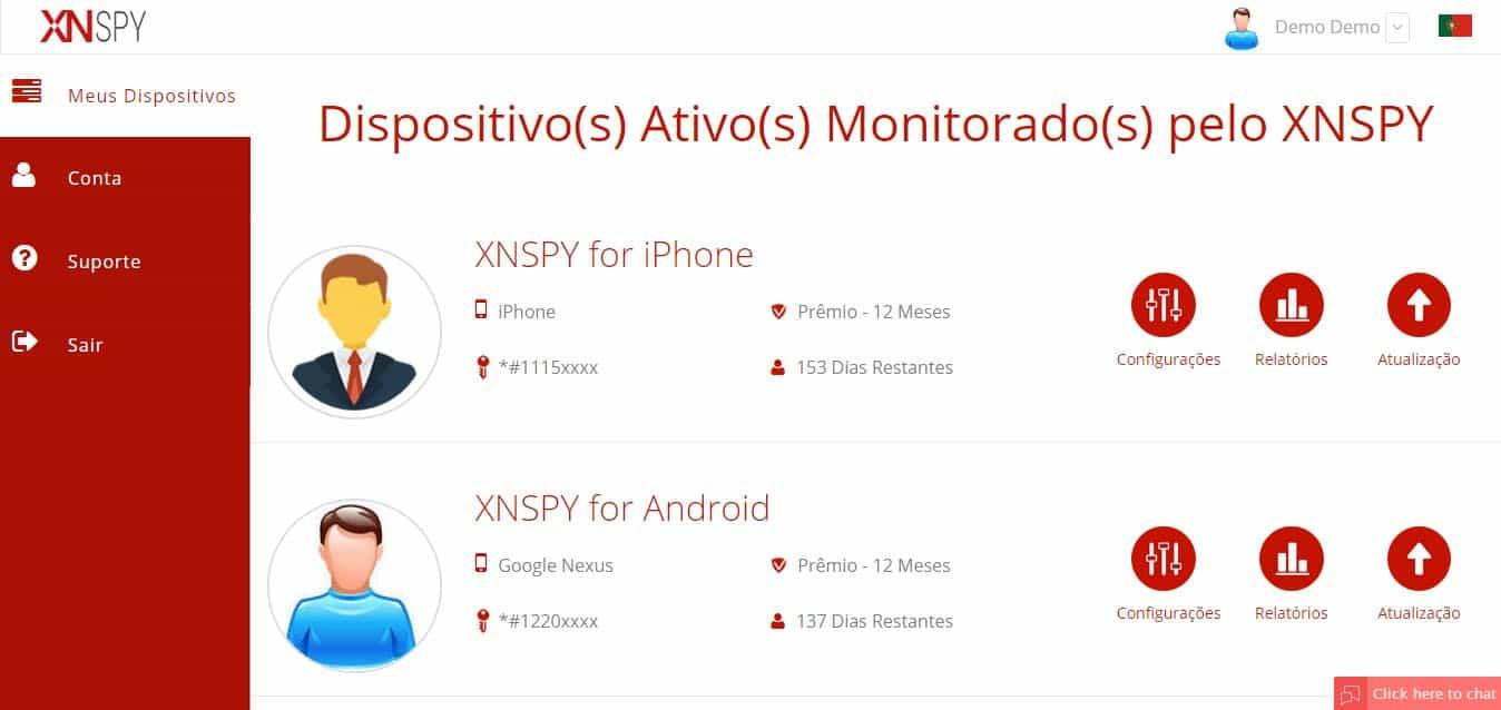 XNSPY para iPhone