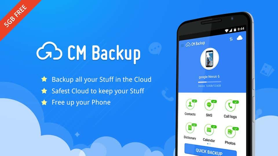 Apps de backup para android