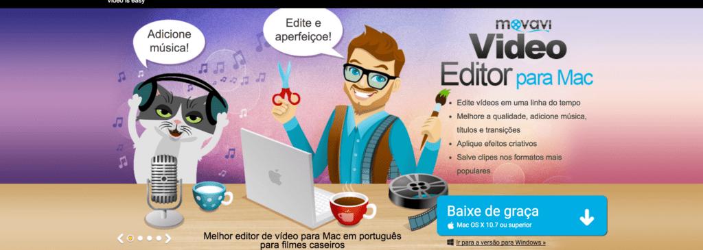 editores de vídeo para Mac