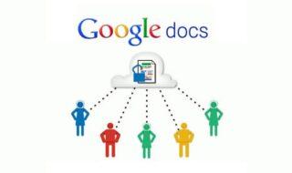 Google Docs editores de texto online