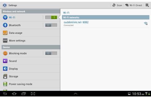 android com wi-fi e 3g