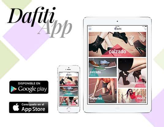 Dafiti app de compras