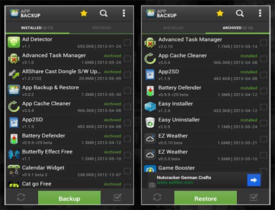 app de backup android