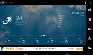 app de clima para Android