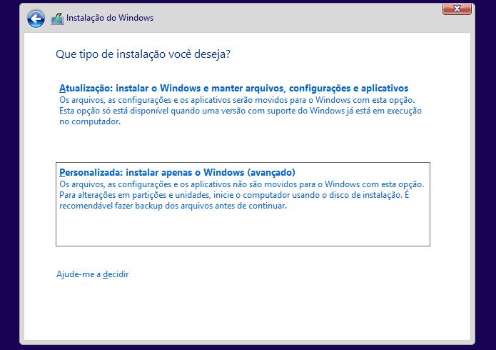 atualizar para o Windows 10