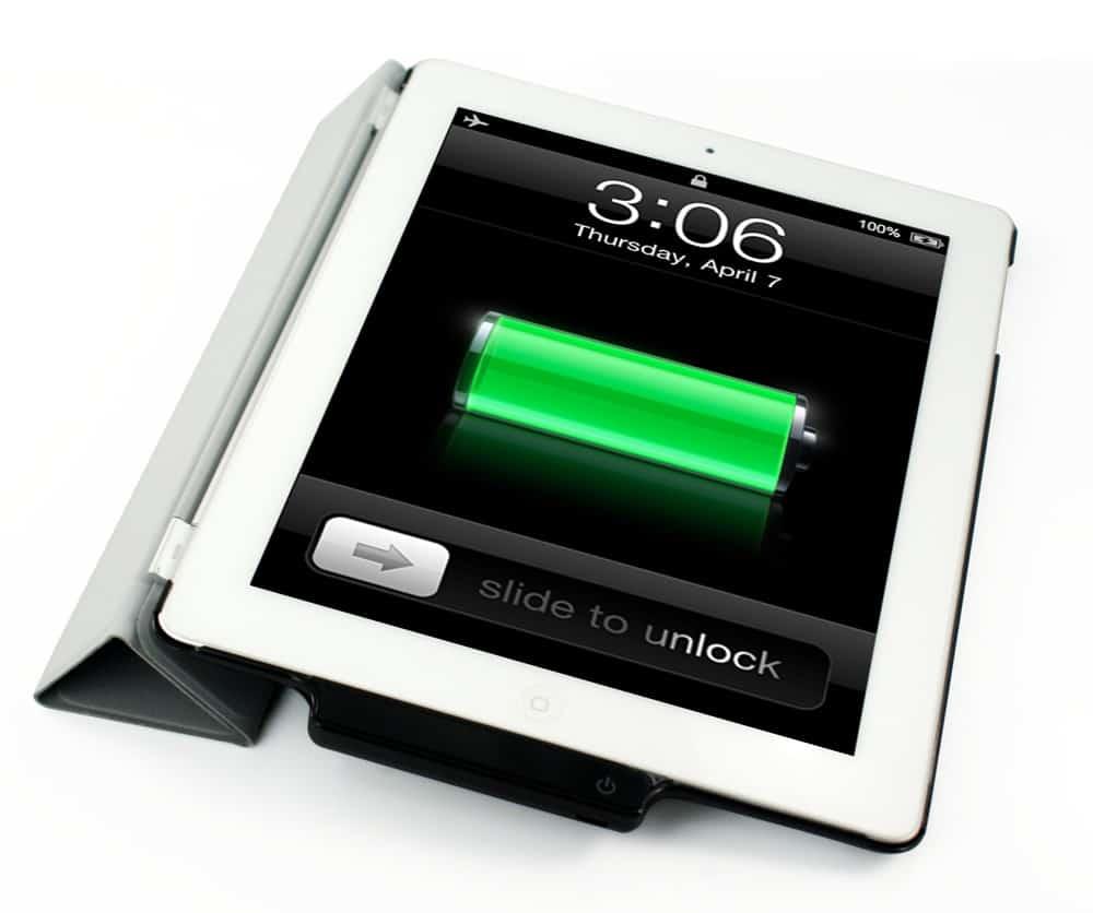 bateria do ipad acaba rápido
