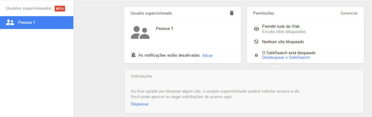 bloquear sites no Google Chrome