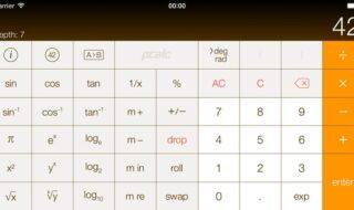 calculadora para o ipad