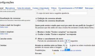 dicas do gmail