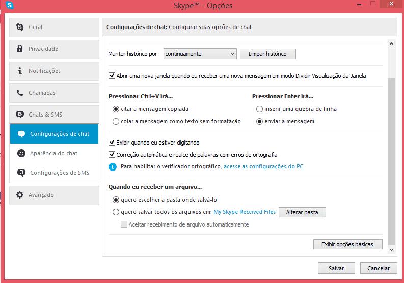 conselhos para usar o Skype