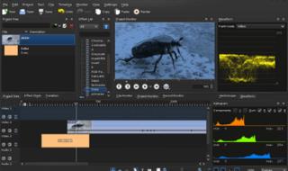 editar vídeos alternativos ao Windows Movie Maker