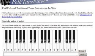 FolkTuneFinder: site para reconhecer músicas