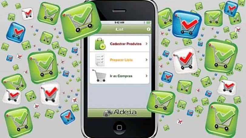 iList touch app de compras