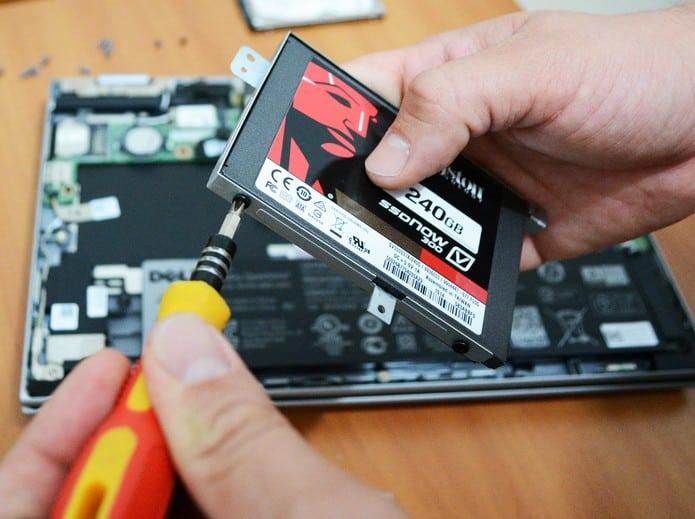 instalar SSD