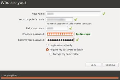 instalar o linux