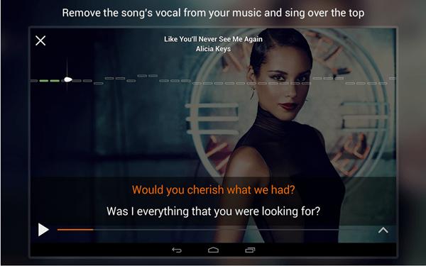 musicX para colocar letra da música no Android