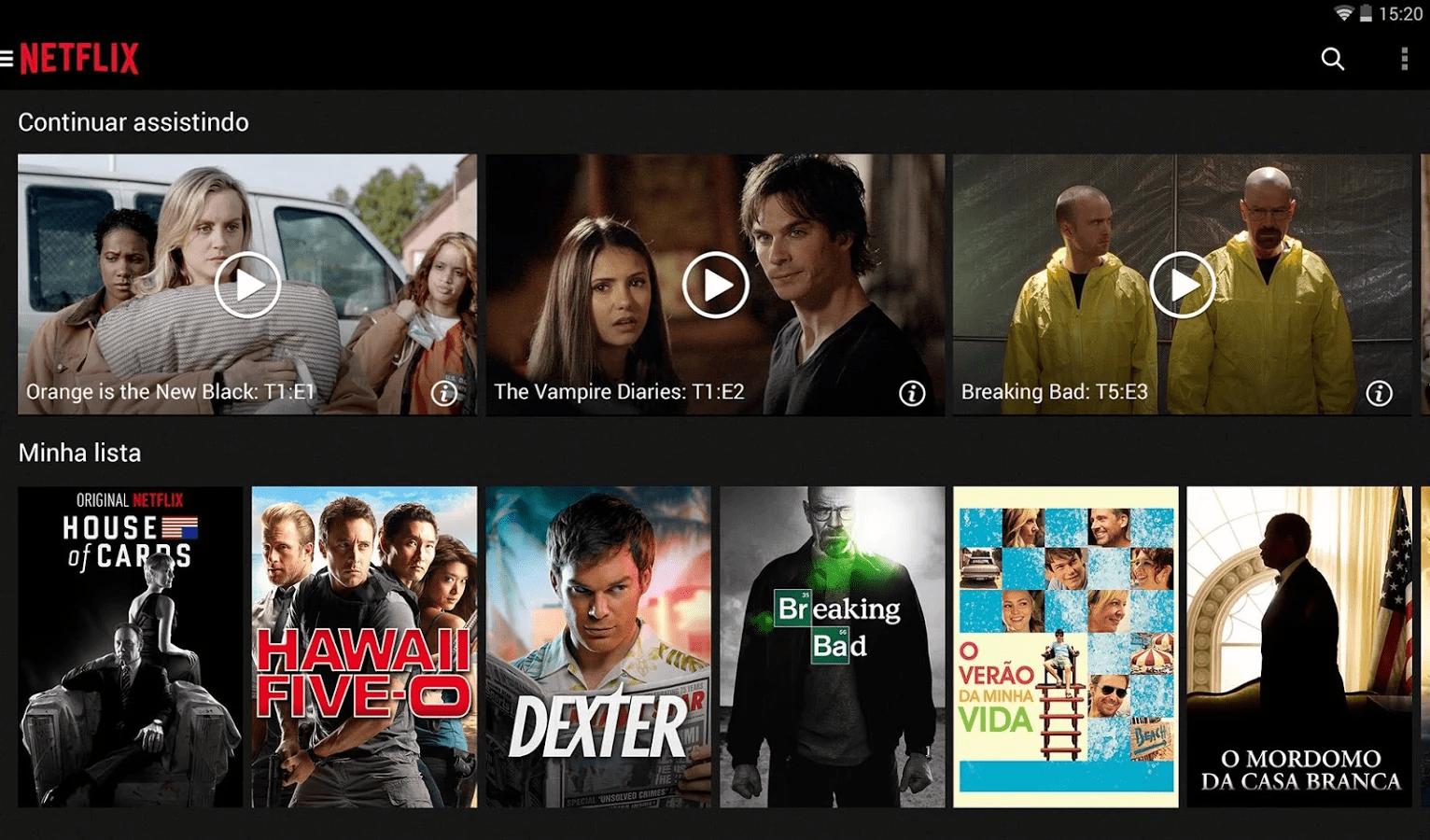 Netflix para Android