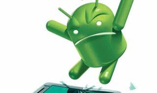 problemas comuns do android lentidão