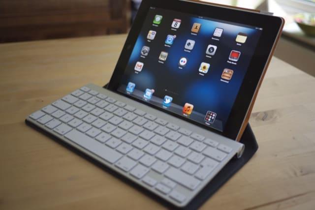 teclado do mac no ipad