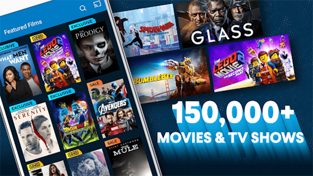 Vudu apps to watch movies