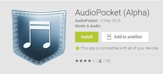 audiopocket app android