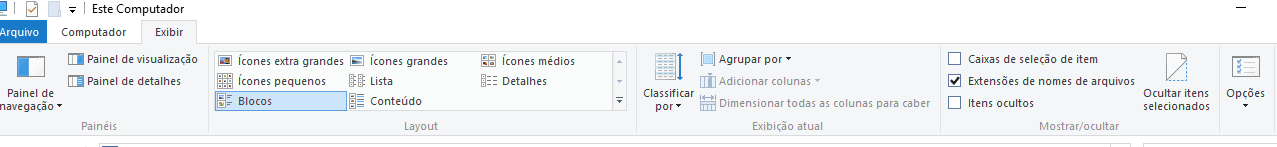 esconder pastas e arquivos no Windows