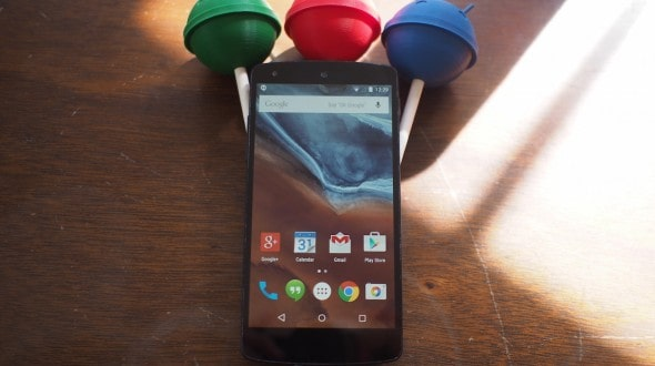 nexus 5 lollipop