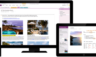 onenote alternativas ao Evernote