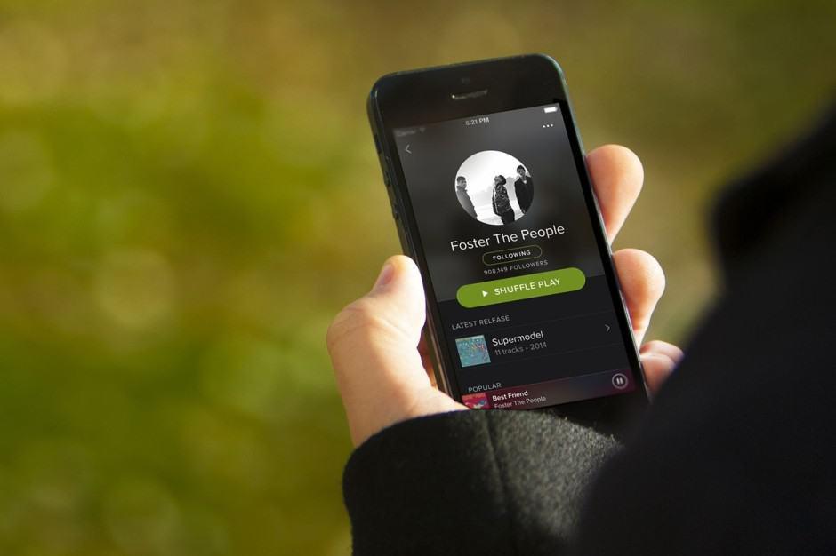 problemas comuns do Spotify