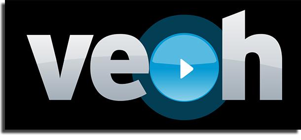 sitios web de videos Veoh