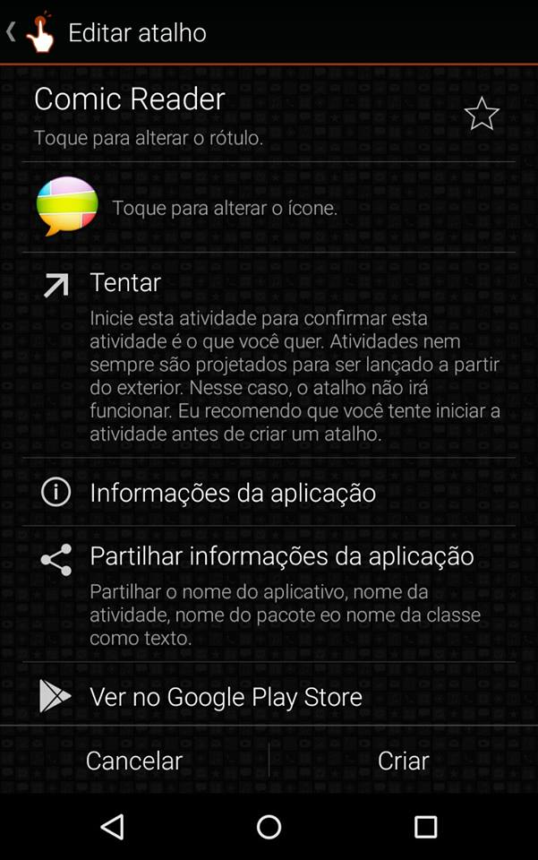 Editar apps no Android
