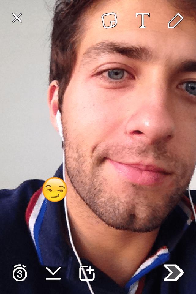 truques escondidos do Snapchat Emoji pequeno