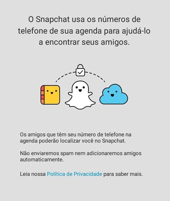 seguir pessoas no snapchat