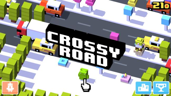 iPhone 7 crossy road