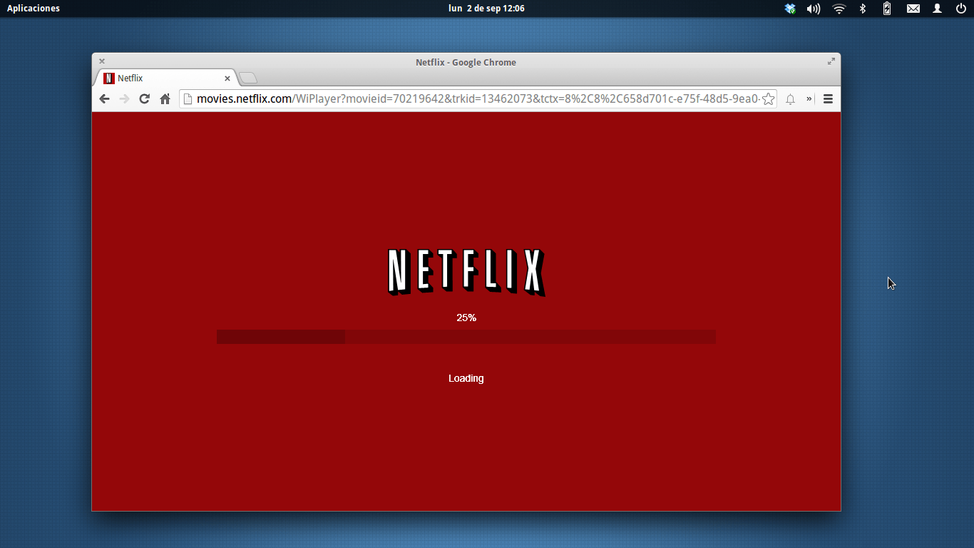 netflix no Google Chrome
