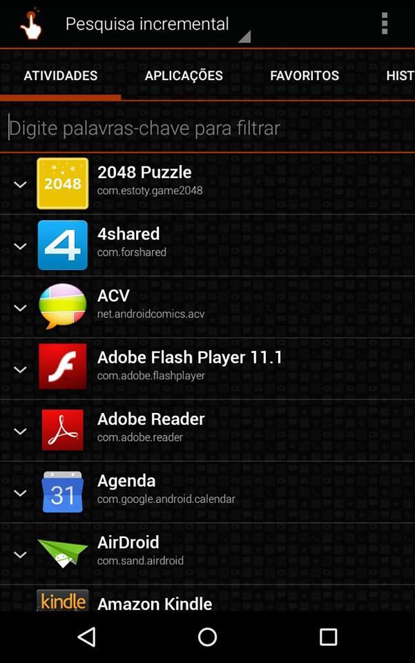 renomear aplicativos no Android