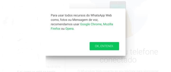 whatsapp no ios
