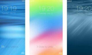 OS 8 Lockscreen