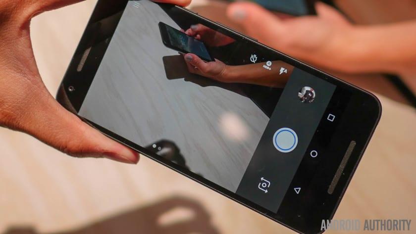 câmera do Android