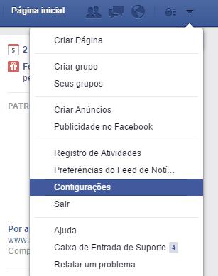 dicas do facebook