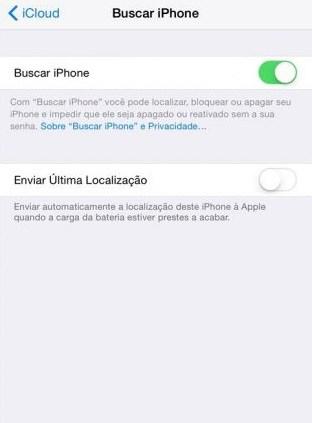 encontrar iphone roubado
